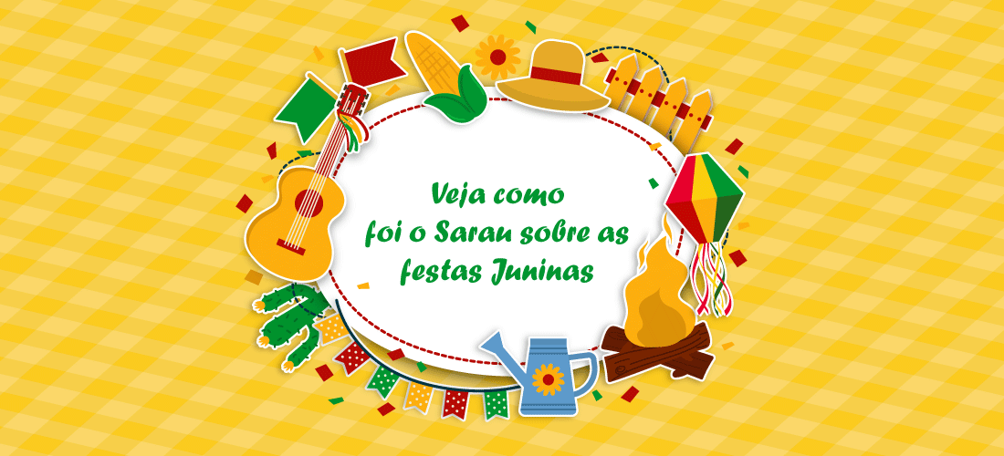 Sarau sobre festas juninas realizado no Instituto Histórico de SV