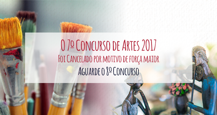 Cancelamento do 7º Concurso de Artes da Academia Vicentina